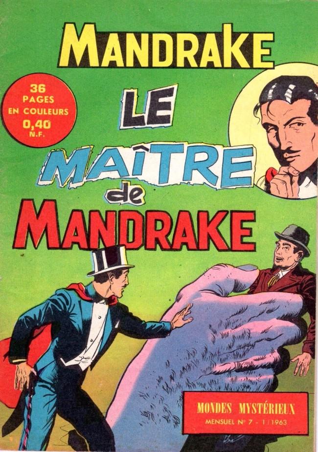 Couverture de Mandrake (1e Série - Remparts) (Mondes Mystérieux - 1) -7- Le maître de mandrake