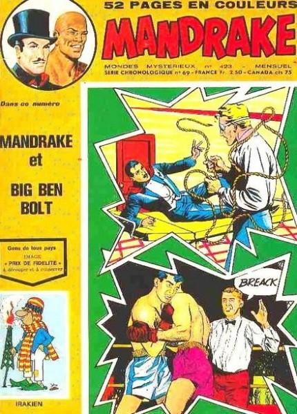 Couverture de Mandrake (1e Série - Remparts) (Mondes Mystérieux - 1) -423- Mandrake et Big Ben Bolt