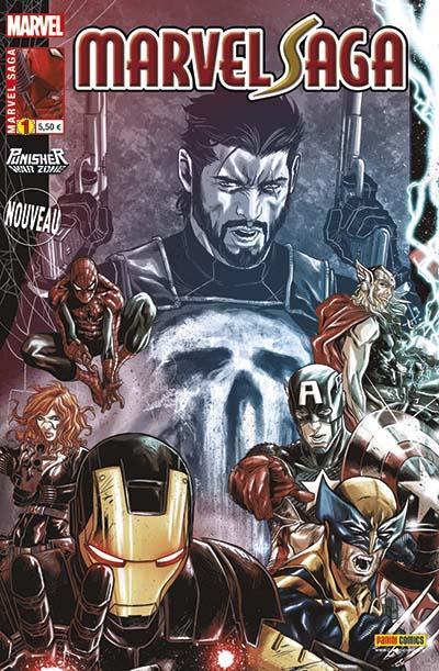 Marvel Saga (2e s�rie) Tome 1 : Face-�-face (2014)