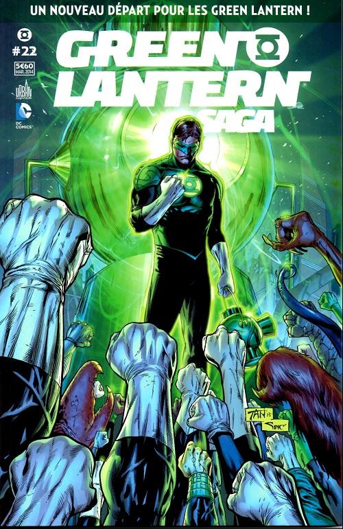 Green Lantern Saga Tome 22 : Un nouveau départ pour les Green Lantern !