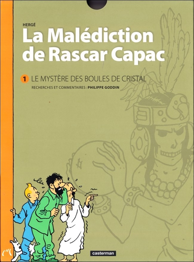 Tintin - Divers 13 : La Mal�diction de Rascar Capac - Volume 1 : Le Myst�re des boules de cristal