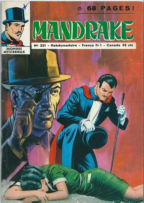 Couverture de Mandrake (1e Série - Remparts) (Mondes Mystérieux - 1) -351- Les visiteurs de minuit