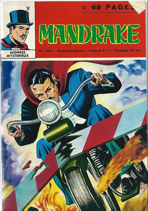 Couverture de Mandrake (1e Série - Remparts) (Mondes Mystérieux - 1) -346- Chasse hallucinante 2