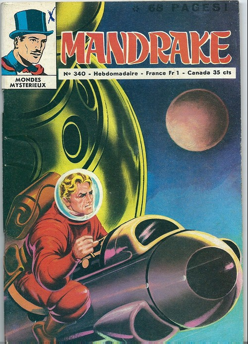 Couverture de Mandrake (1e Série - Remparts) (Mondes Mystérieux - 1) -340- Le brouillard mystérieux 2
