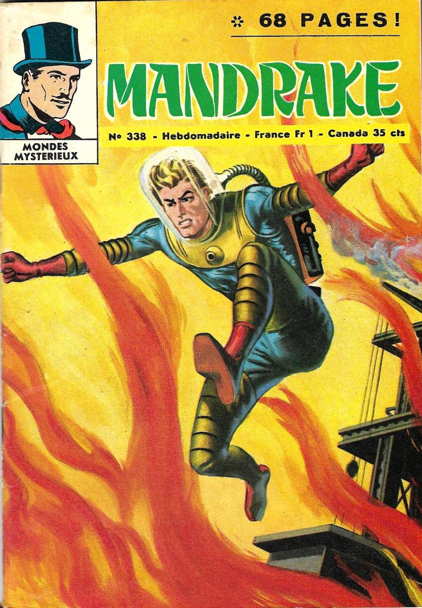 Couverture de Mandrake (1e Série - Remparts) (Mondes Mystérieux - 1) -338- Le filet du cobra