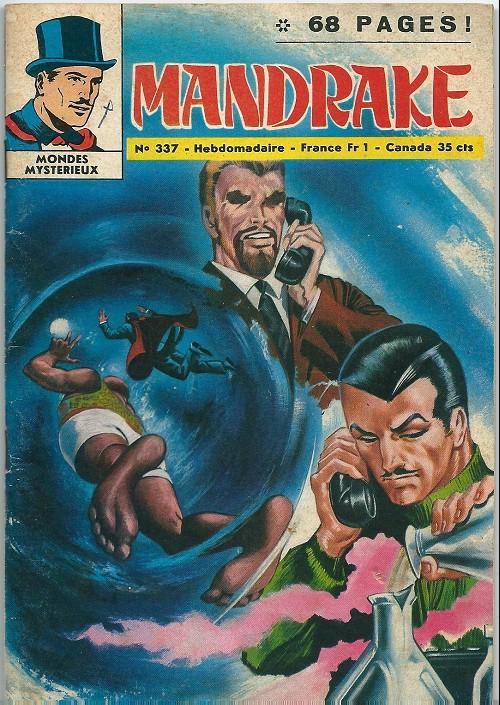 Couverture de Mandrake (1e Série - Remparts) (Mondes Mystérieux - 1) -337- Une cachette bien gardée