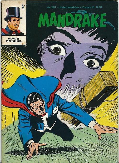 Couverture de Mandrake (1e Série - Remparts) (Mondes Mystérieux - 1) -201- L'énnemi de l'ombre