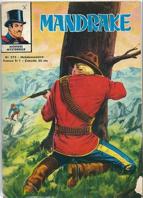 Couverture de Mandrake (1e Série - Remparts) (Mondes Mystérieux - 1) -272- Le gardien du temps