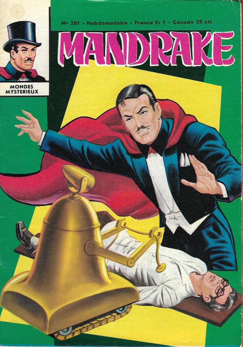 Couverture de Mandrake (1e Série - Remparts) (Mondes Mystérieux - 1) -281- Le tyran d'acier