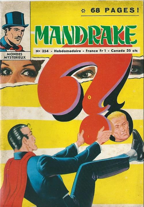 Couverture de Mandrake (1e Série - Remparts) (Mondes Mystérieux - 1) -354- Les photos mystérieuses