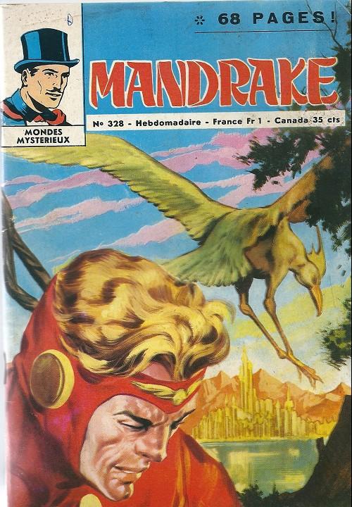 Couverture de Mandrake (1e Série - Remparts) (Mondes Mystérieux - 1) -328- La reine des amazones