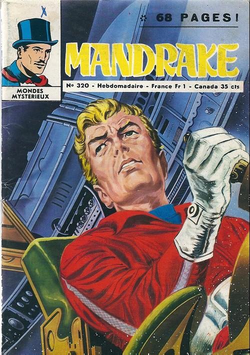 Couverture de Mandrake (1e Série - Remparts) (Mondes Mystérieux - 1) -320- Sauterelles sur la vallée