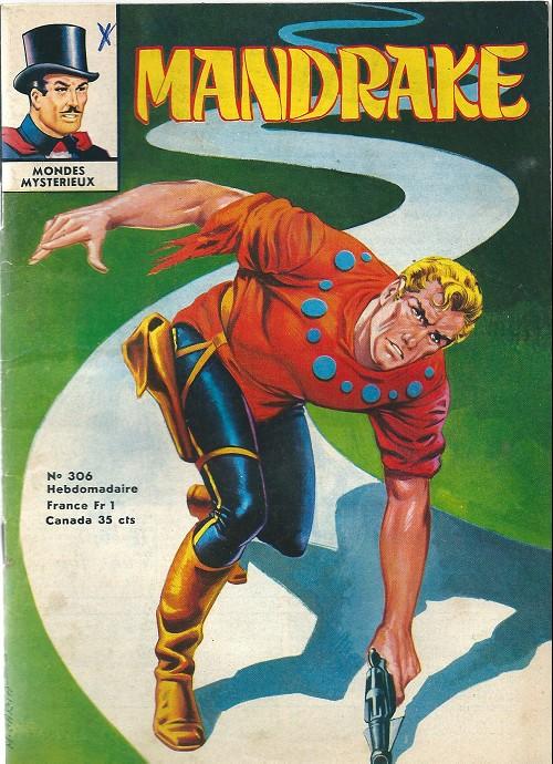 Couverture de Mandrake (1e Série - Remparts) (Mondes Mystérieux - 1) -306- Les conquèrants de l'espace