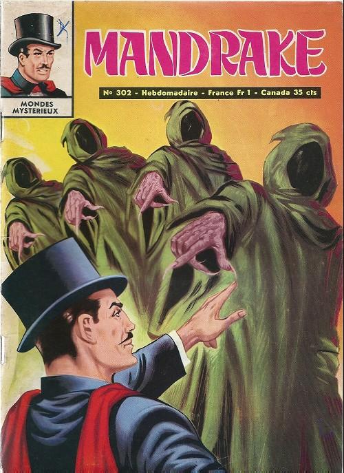 Couverture de Mandrake (1e Série - Remparts) (Mondes Mystérieux - 1) -302- L'étrange voleur
