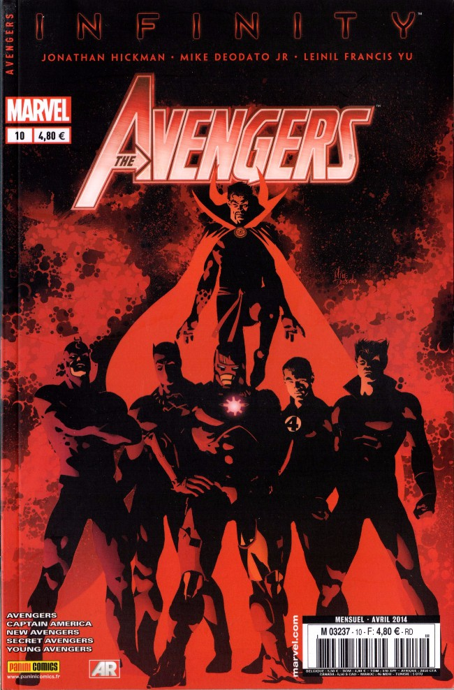Avengers (The) (Marvel France 4e série) Tome 10 : La semence de Thanos (2014)