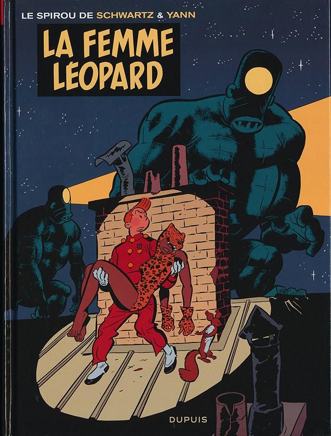 Spirou et Fantasio (Une aventure de) 7. La femme léopard