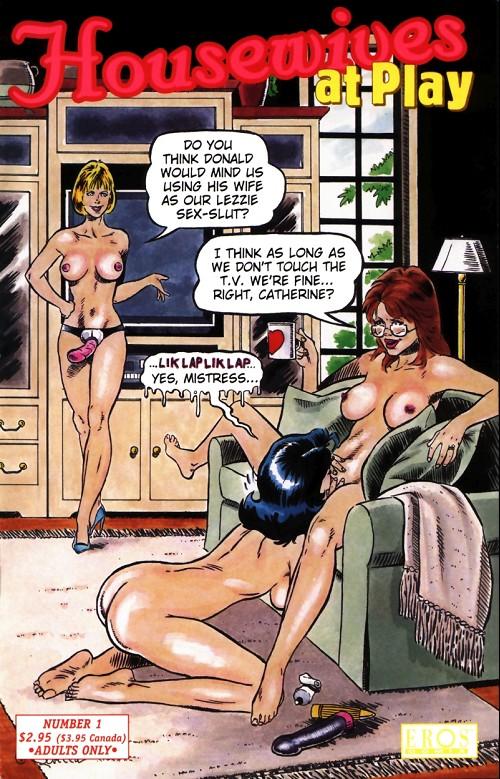 домохозяйка порно комиксы
