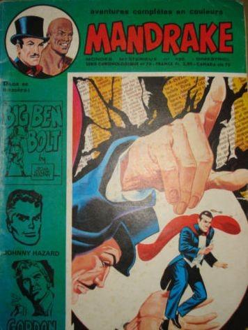 Couverture de Mandrake (1e Série - Remparts) (Mondes Mystérieux - 1) -430- Retour ax