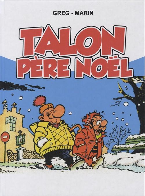 Couverture de Achille Talon -HS4- Talon Père Noël