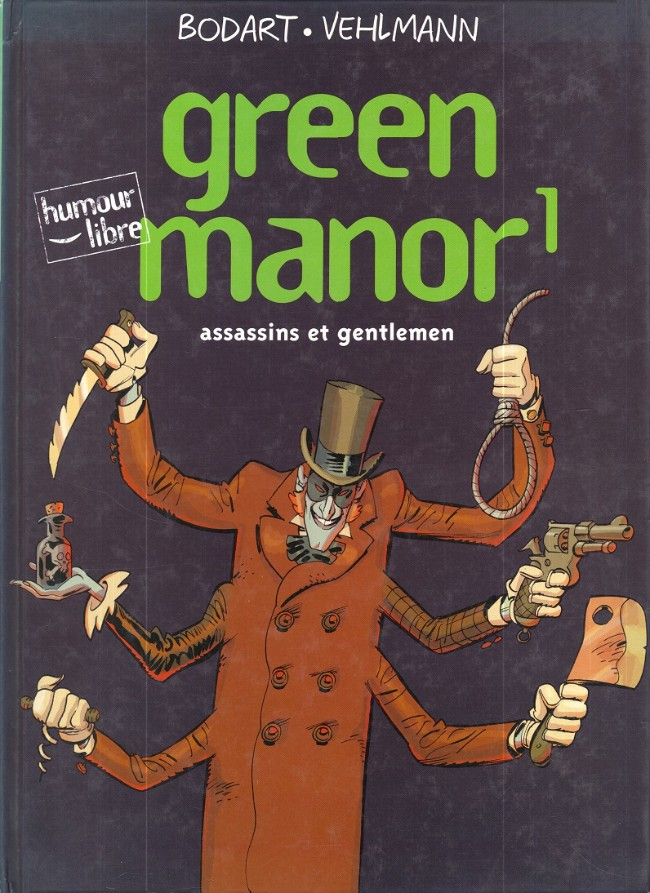 Green Manor Tome 01