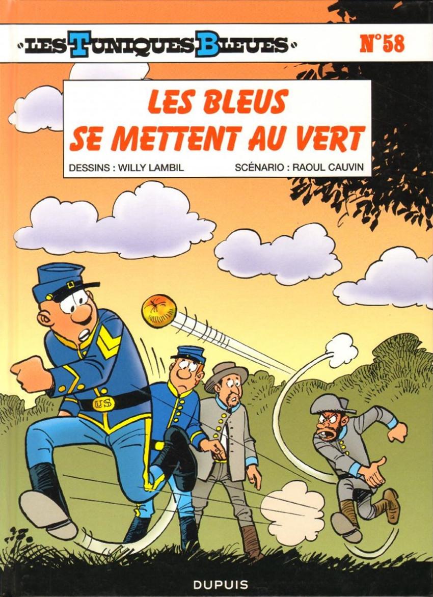 Les Tuniques Bleues Tome 58 - Les Bleus se mettent au vert (2014)