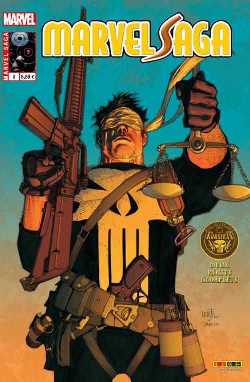 Couverture de Marvel Saga (2e série) -3- Le procès du punisher