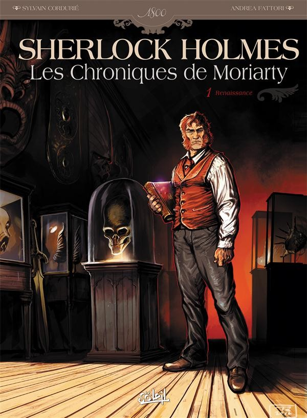 Sherlock Holmes Chroniques de Moriarty Re-Up Tome 1 PDF