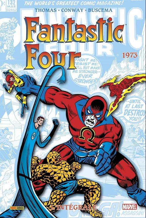 Couverture de Fantastic Four (L'intégrale) -12- Fantastic Four : L'intégrale 1973