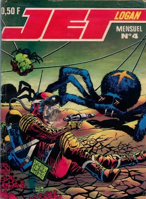 Couverture de Jet Logan (puis Jet) -4- Péril dans l'espace