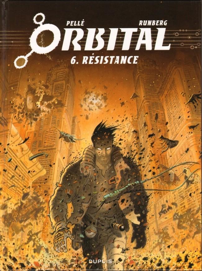 Couverture de Orbital -6- Résistance