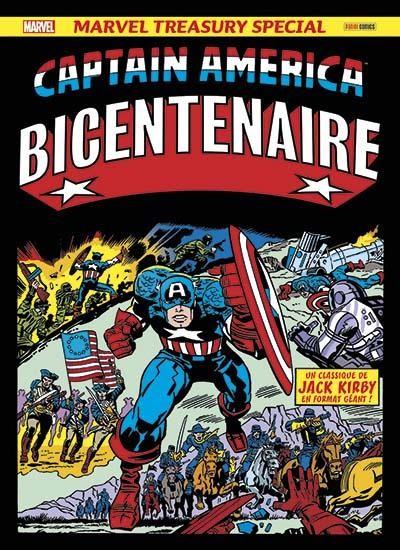 Couverture de Captain America Bicentenaire