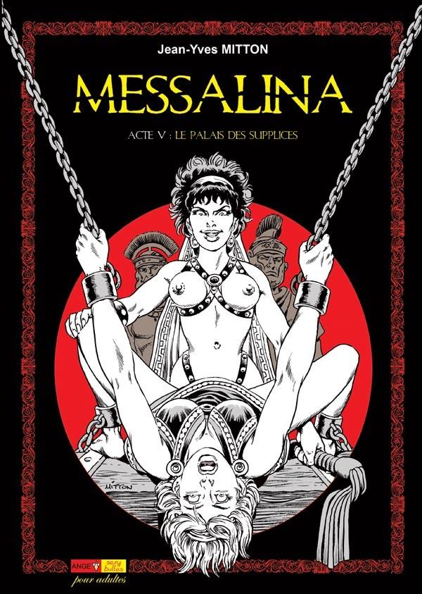 Couverture de Messalina -5- Acte V : Le palais des supplices