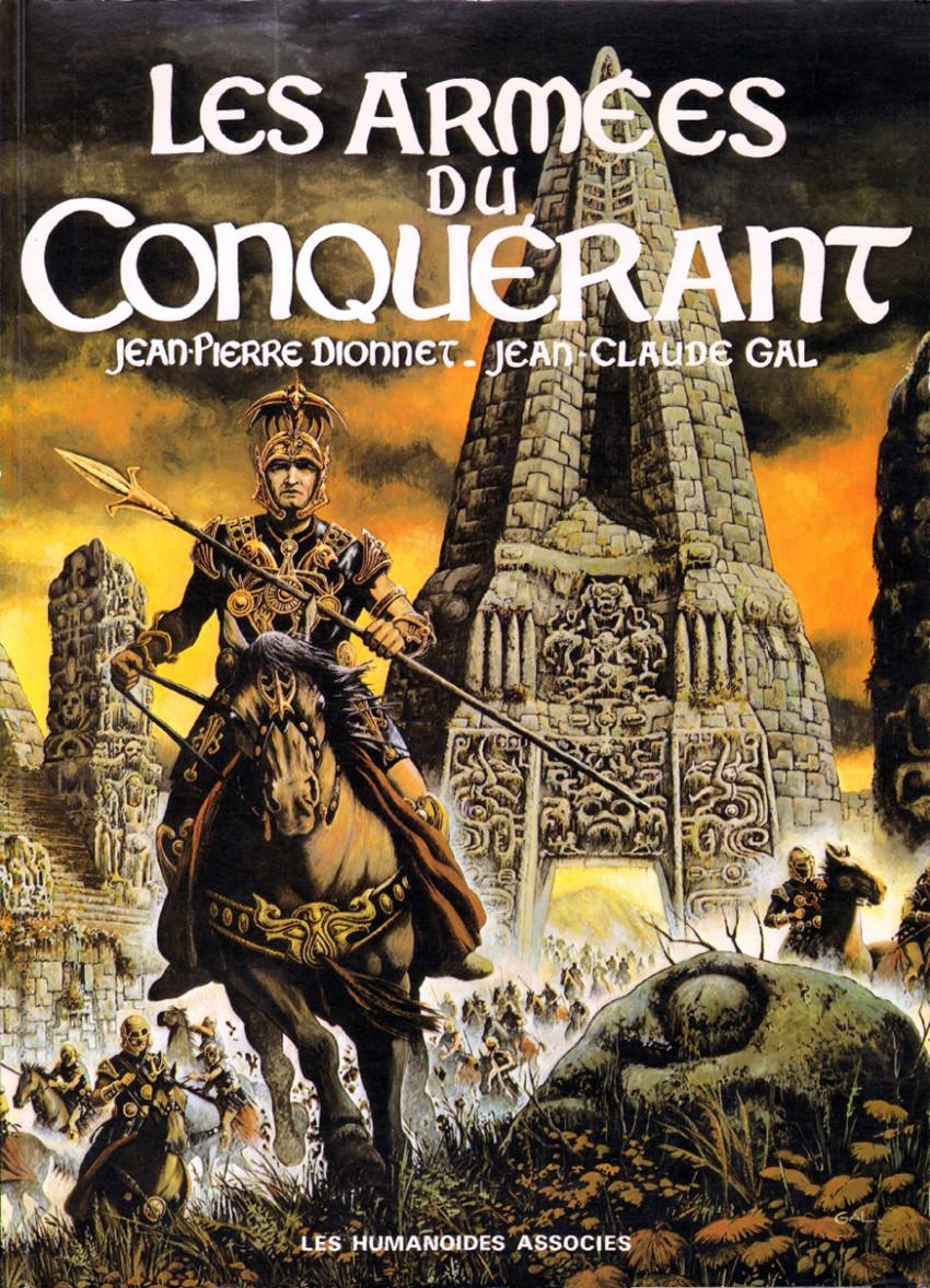 Couverture de Les armées du conquérant - Tome 1