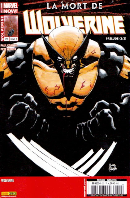 Wolverine v4 Tome 22 Panini Comics French