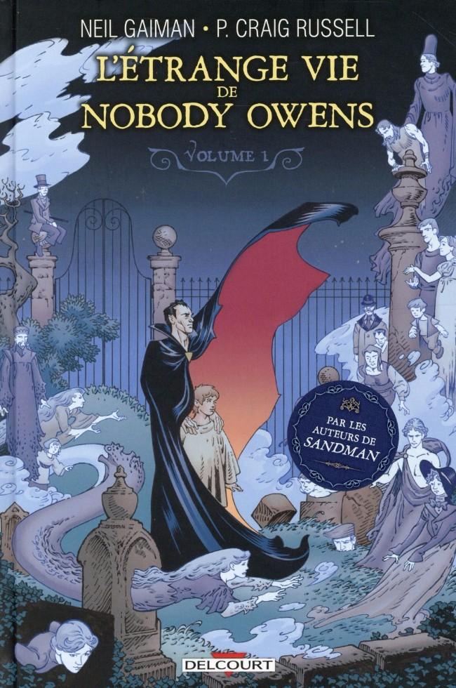 Couverture de L'Étrange vie de Nobody Owens -1- Volume 1