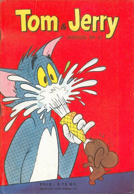 Couverture de Tom et Jerry (Puis Tom & Jerry) (2e Série - Sage) -41- Supercherie de Mitsou et Jerry
