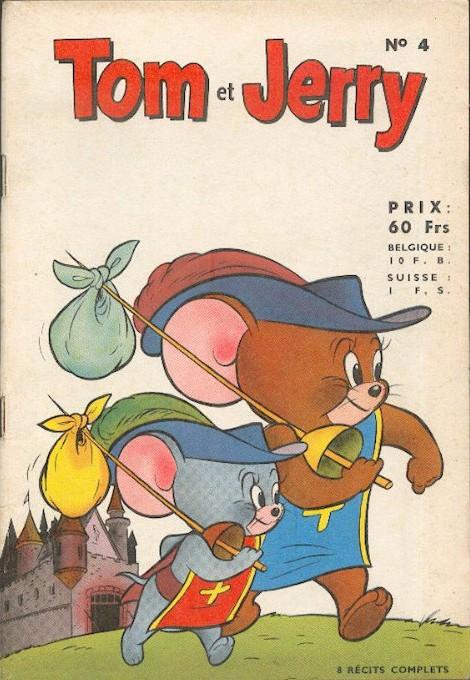 Couverture de Tom et Jerry (Puis Tom & Jerry) (2e Série - Sage) -4- Artiste D'avant-garde