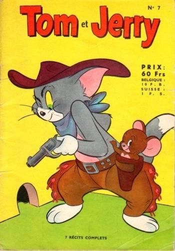 Couverture de Tom et Jerry (Puis Tom & Jerry) (2e Série - Sage) -7- Un bouquet indigeste !