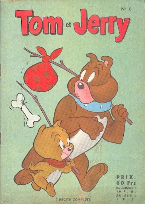 Couverture de Tom et Jerry (Puis Tom & Jerry) (2e Série - Sage) -8- Tome joueur de golf effréné !