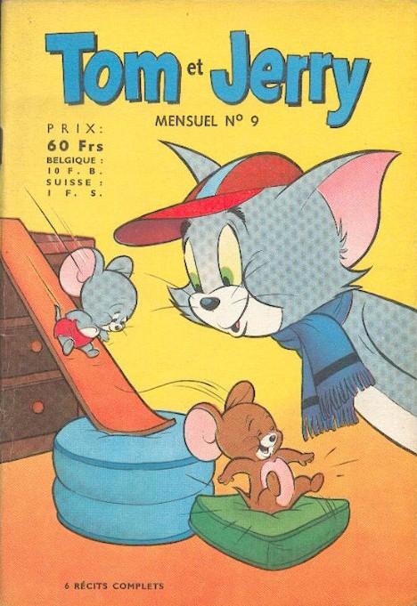 Couverture de Tom et Jerry (Puis Tom & Jerry) (2e Série - Sage) -9- Le Roi des Paresseux !