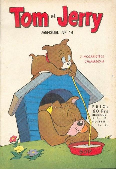 Couverture de Tom et Jerry (Puis Tom & Jerry) (2e Série - Sage) -14- Aviation en chambre