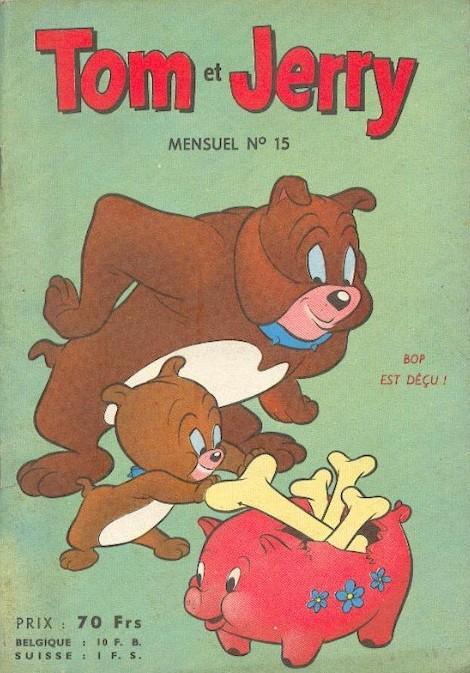 Couverture de Tom et Jerry (Puis Tom & Jerry) (2e Série - Sage) -15- Jerry et mitsou font une niche