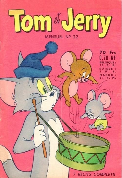 Couverture de Tom et Jerry (Puis Tom & Jerry) (2e Série - Sage) -22- Arbre de Noël pas comme les autres