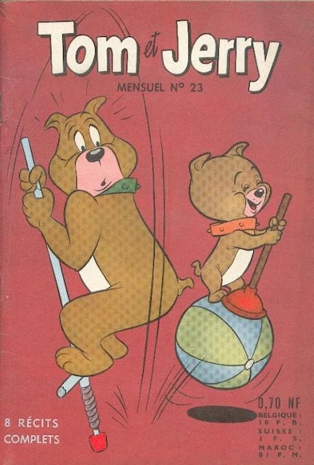 Couverture de Tom et Jerry (Puis Tom & Jerry) (2e Série - Sage) -23- Jerry et Mitsou mènent Tom en bateau...