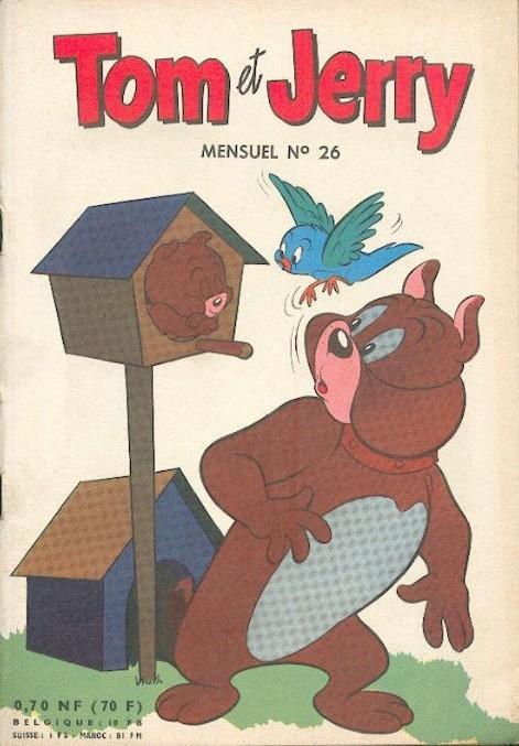 Couverture de Tom et Jerry (Puis Tom & Jerry) (2e Série - Sage) -26- Alerte lion en liberté