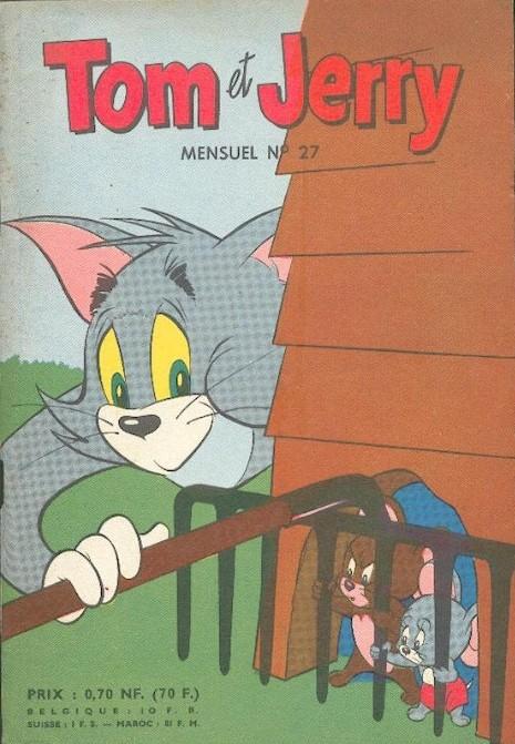 Couverture de Tom et Jerry (Puis Tom & Jerry) (2e Série - Sage) -27- Un ronron général...