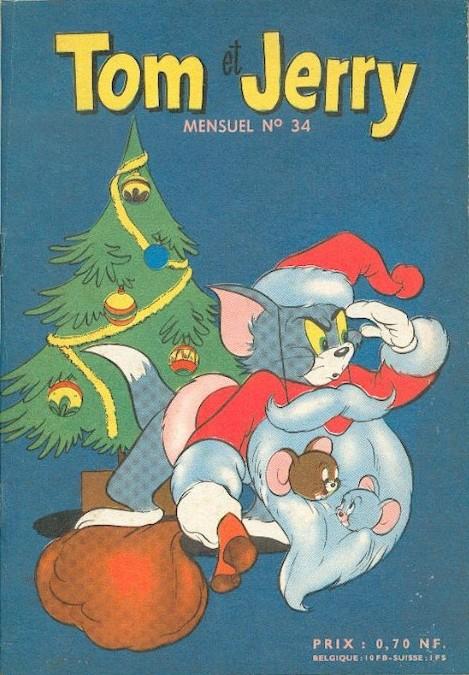 Couverture de Tom et Jerry (Puis Tom & Jerry) (2e Série - Sage) -34- La dinde à la bougeotte !