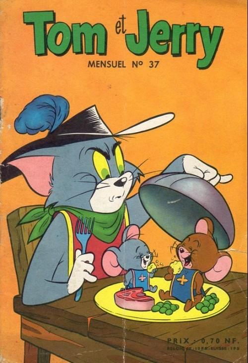 Couverture de Tom et Jerry (Puis Tom & Jerry) (2e Série - Sage) -37- Ruses d'indiens
