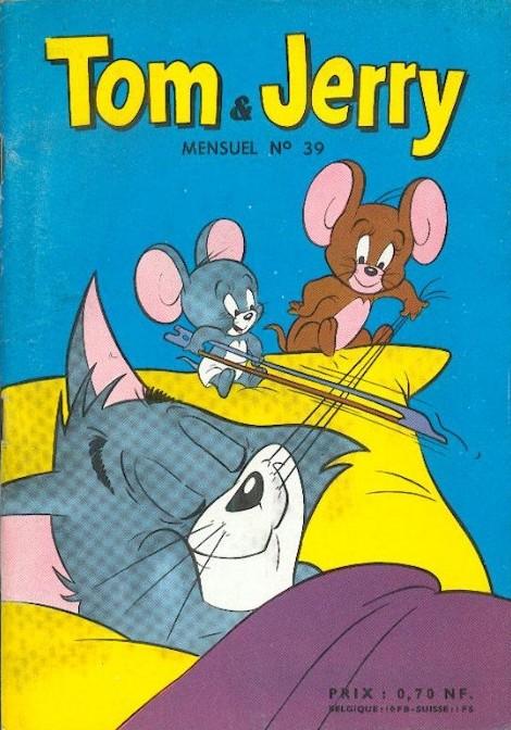 Couverture de Tom et Jerry (Puis Tom & Jerry) (2e Série - Sage) -39- Le chaton trop naïf !