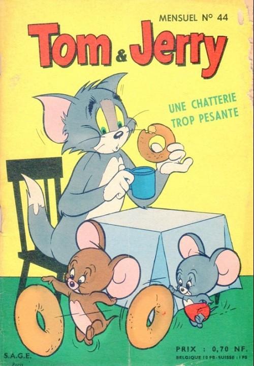Couverture de Tom et Jerry (Puis Tom & Jerry) (2e Série - Sage) -44- Une chatterie trop pesante